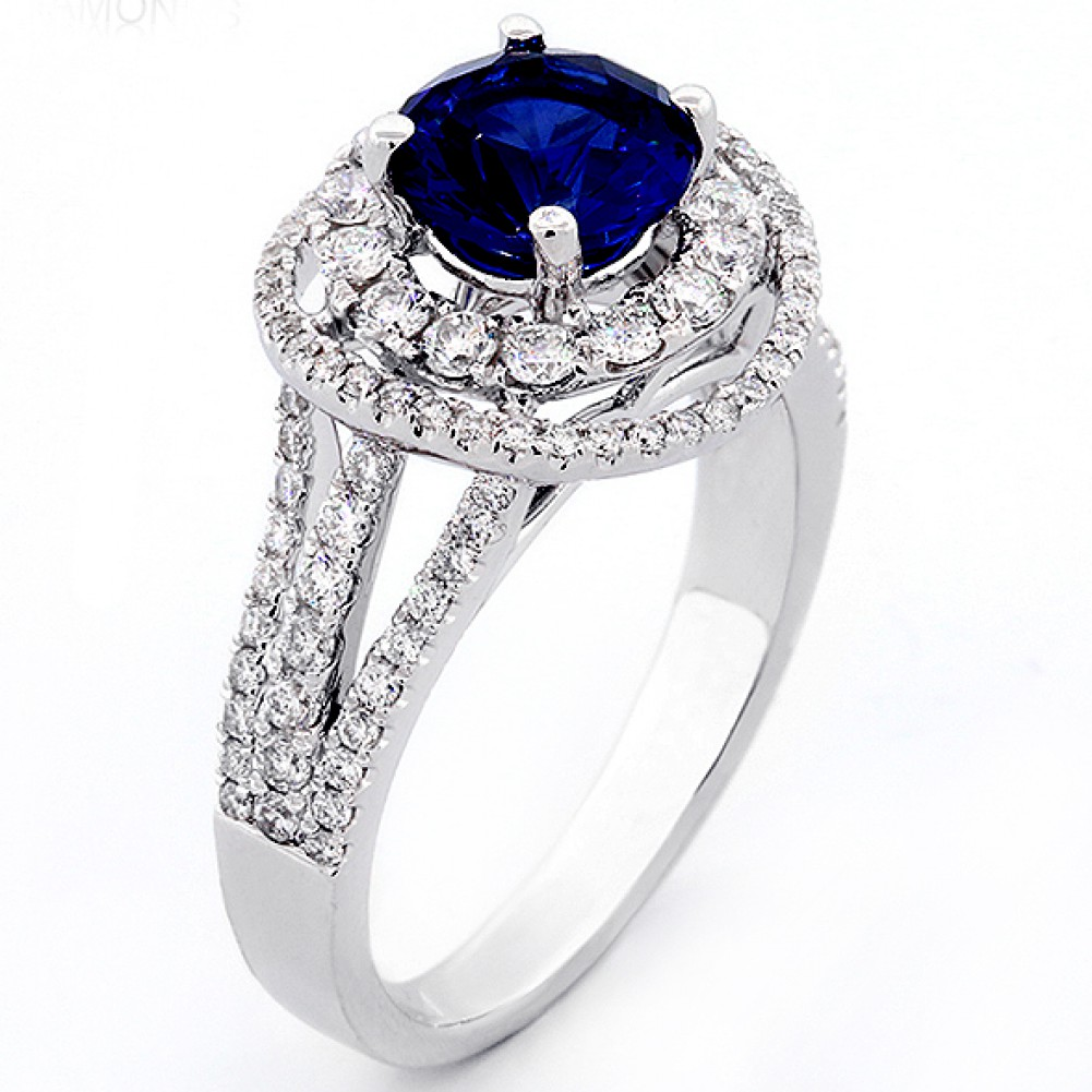 product band wedding rings wide stone shop jewelry blue ct pave engagement pav cathedral setting open european tall