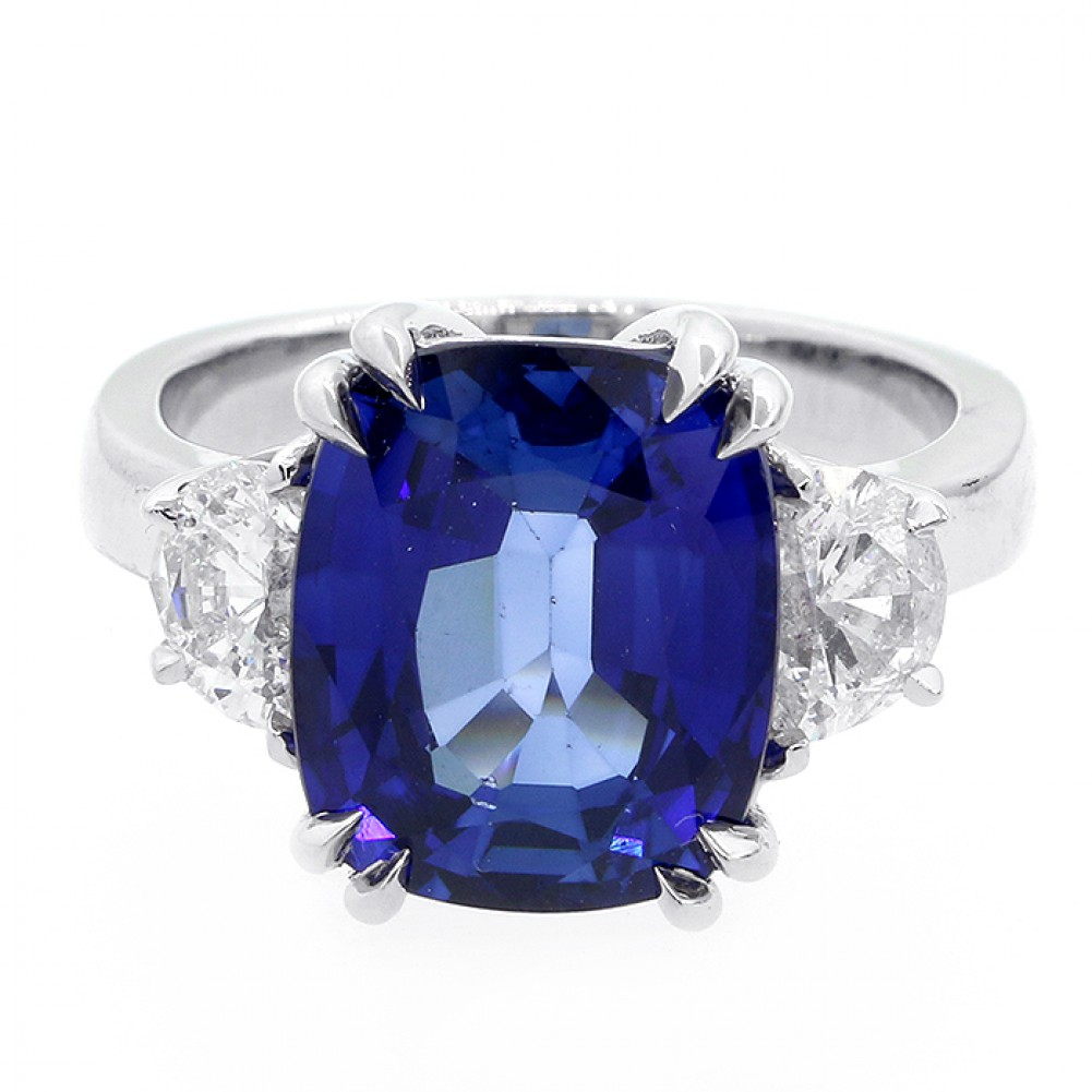 aphrodite rings gem choosing sapphire engagement stones black other baroque ring an corundum and diamonds