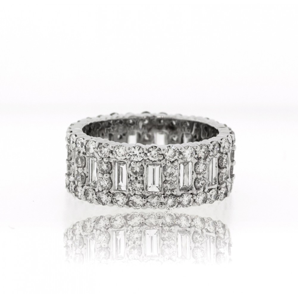 diamond jewelers zoom barmakian bands wide eternity band products