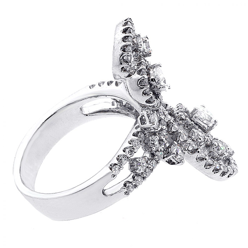 fopivkf ring big engagement diamond rings huge promise custon wedding flower of ct images