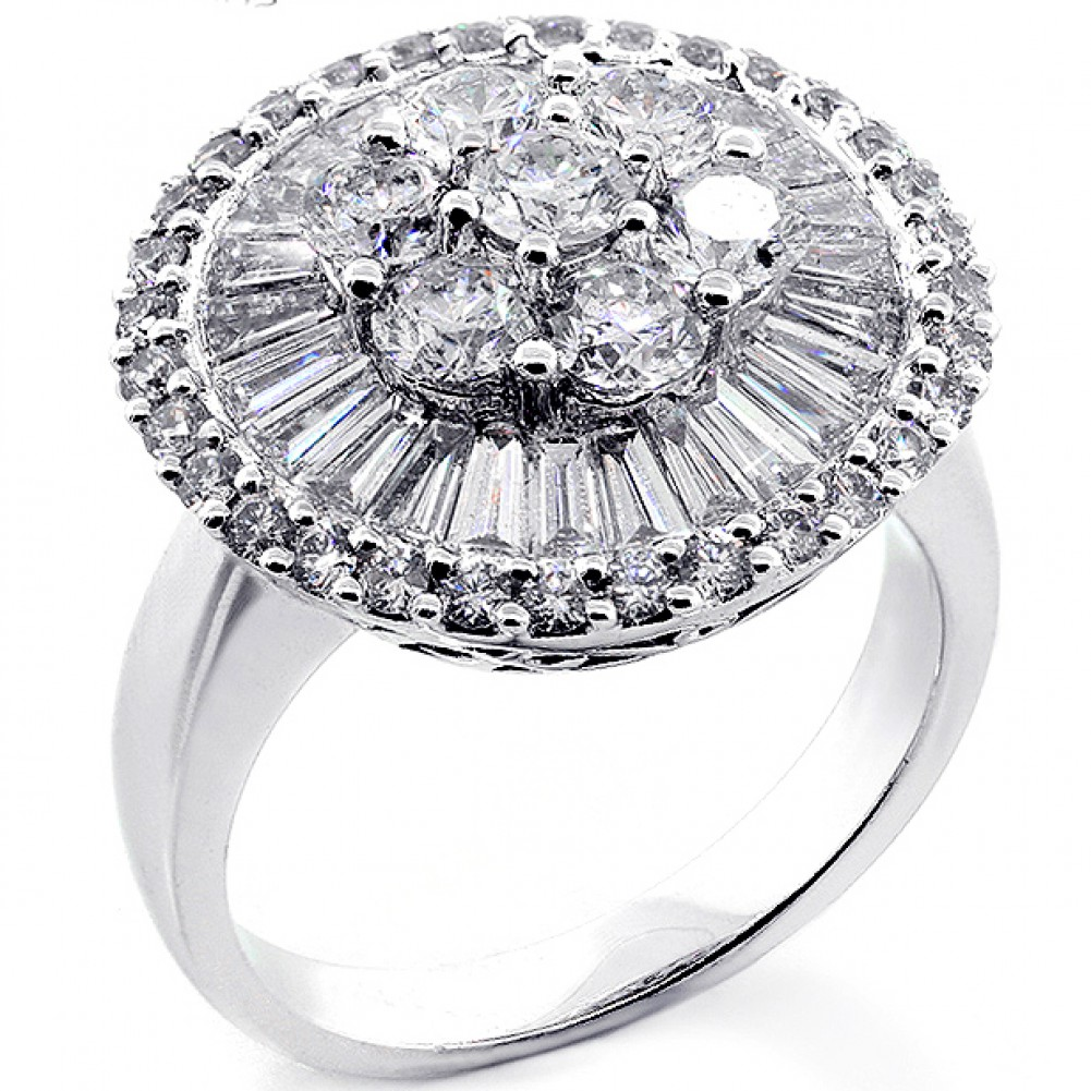rings diamond engagement cocktail ring vintage