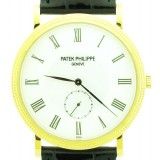 Patek Philippe Calatrava 36mm Watch - NEW with PAPER and BOX