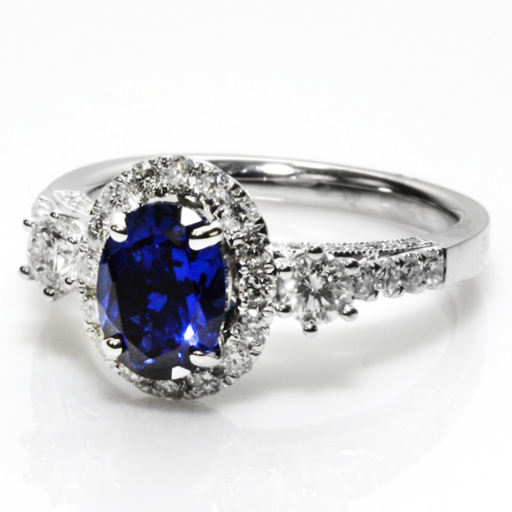 of with rings cz knowledgeable black sets ring forever wedding concept size blue image diamond full sapphire cheap