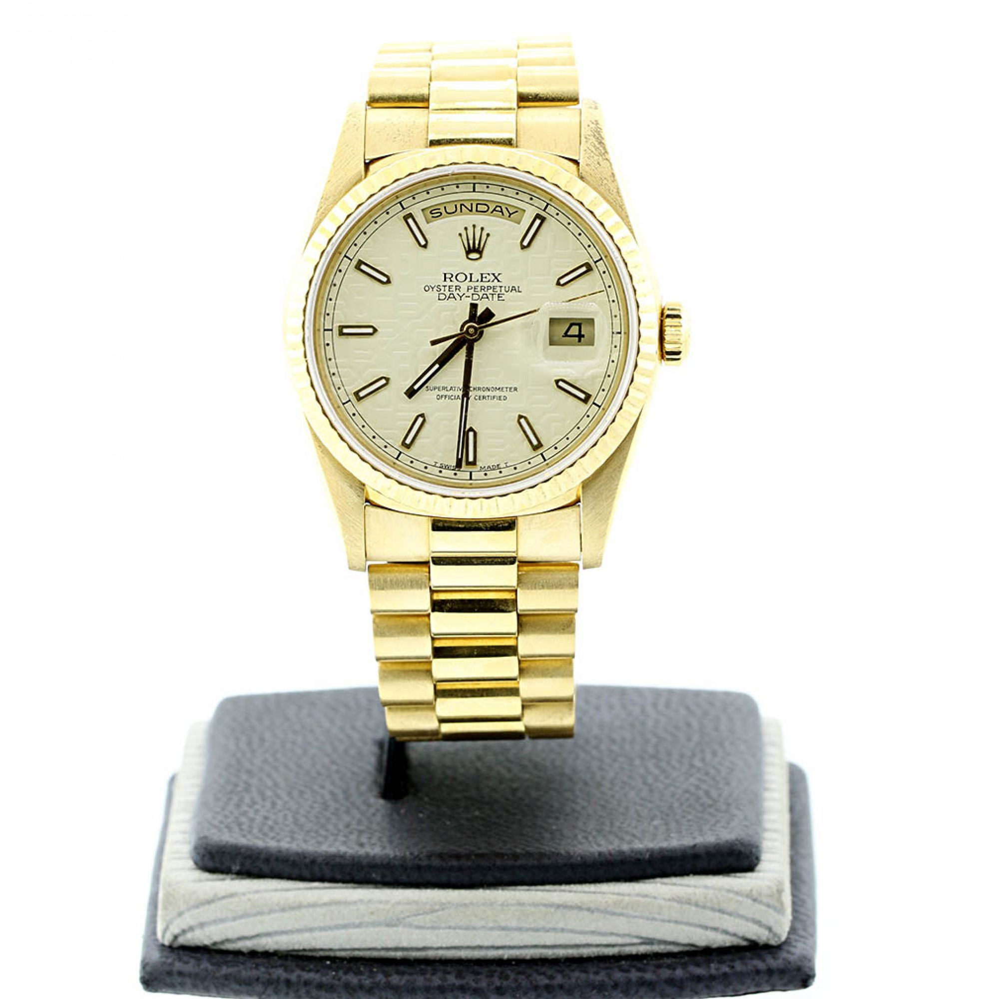 141e8ef5b51 Rolex Oyster Perpetual President Day-Date 18K Yellow Gold 36mm Automatic  watch