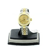 ROLEX Lady Datejust Two-Tone 18K Yellow gold Fluted 26mm Automatic Watch