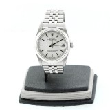 ROLEX Datejust Stainless Steel Silver Dial 31mm Automatic Watch