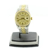 ROLEX Lady-Datejust 18K Yellow Gold Fluted 26mm Automatic Watch