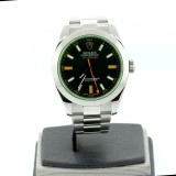 ROLEX Milgauss 116400GV Black Dial Automatic 40mm Watch