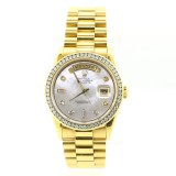 Rolex Day-Date 18K Yellow Gold President 36mm Automatic Watch