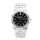 AUDEMARS PIGUET Royal Oak Stainless Steel Black Dial 41MM Watch