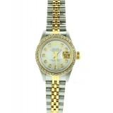 Rolex Lady-Datejust Two-Tone Diamond Bezel 26mm Automatic Watch