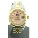 Role Lady-Datejust with Pink Diamond Dial 26mm Watch