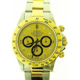 Rolex Daytona 116523 Yellow Gold Chronograph Dial 40mm Watch