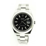 Rolex Datejust II Stainless Steel Black Dial 41mm Watch