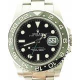 Rolex GMT Master II Steel and Yellow Gold Rotatable Bezel Black Dial 40mm Automatic watch