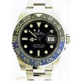 "Rolex GMT Master II Stainless  Steel Blue-Black ""Batman"" Bezel 40mm Automatic watch"