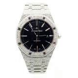 AUDEMARS PIGUET Royal Oak Stainless Steel with 22.00 ctw Diamond 41MM Watch