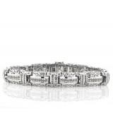 7.92CT Unique Men's Diamond Bracelet