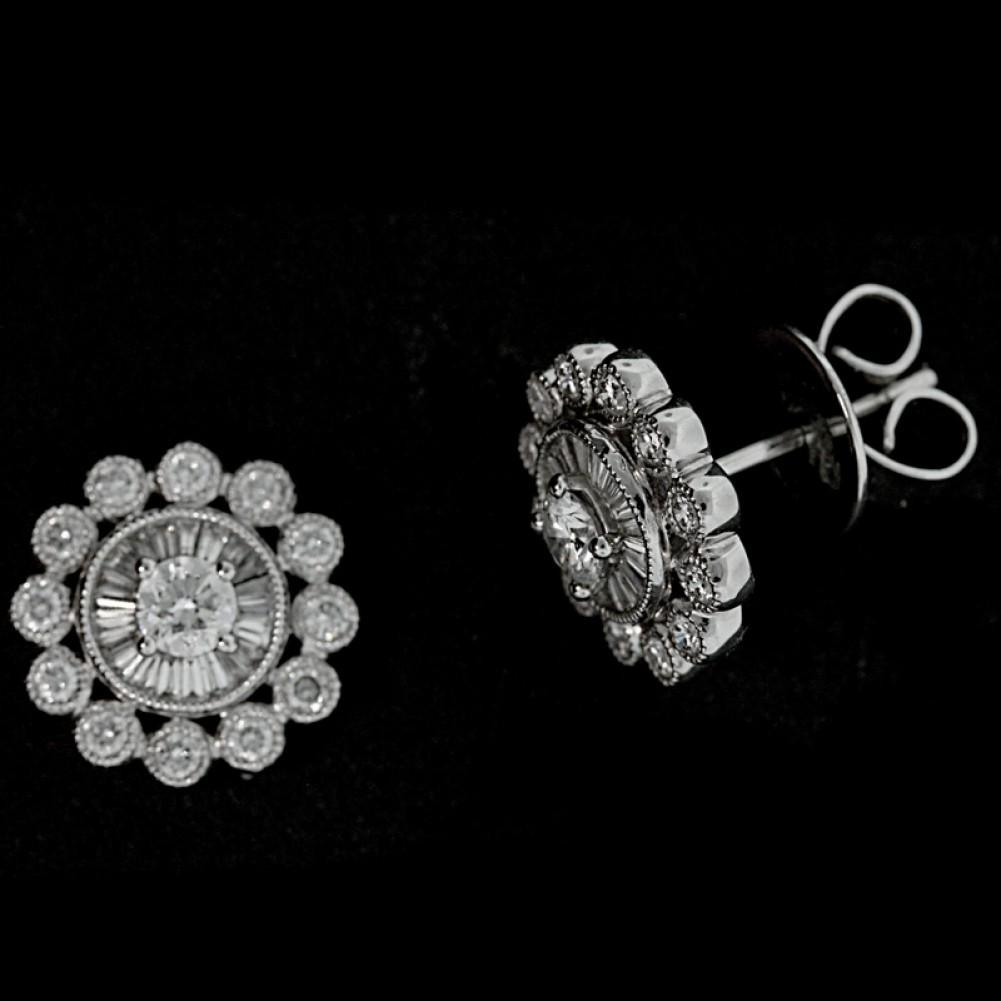 2ct Ct Diamond Stud Earrings