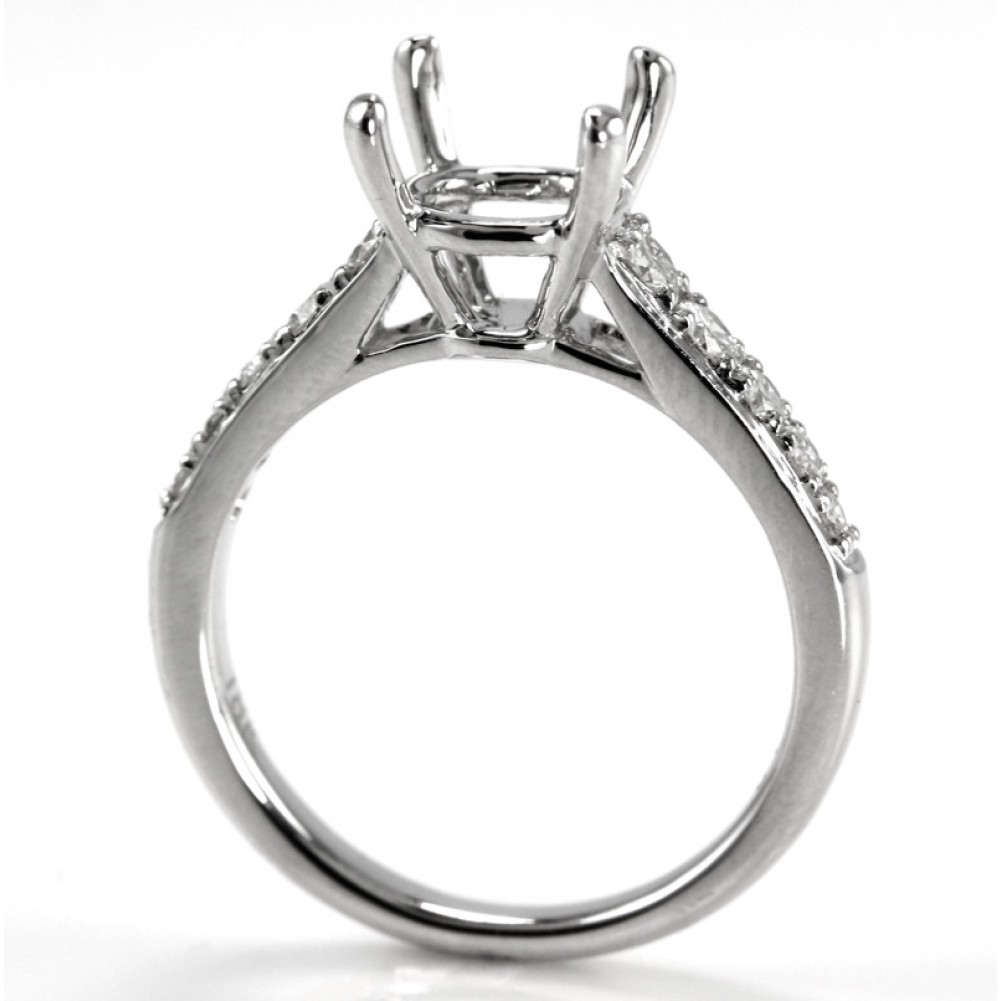 ring engagement rings in solitaire w center halo no gold prong diamond