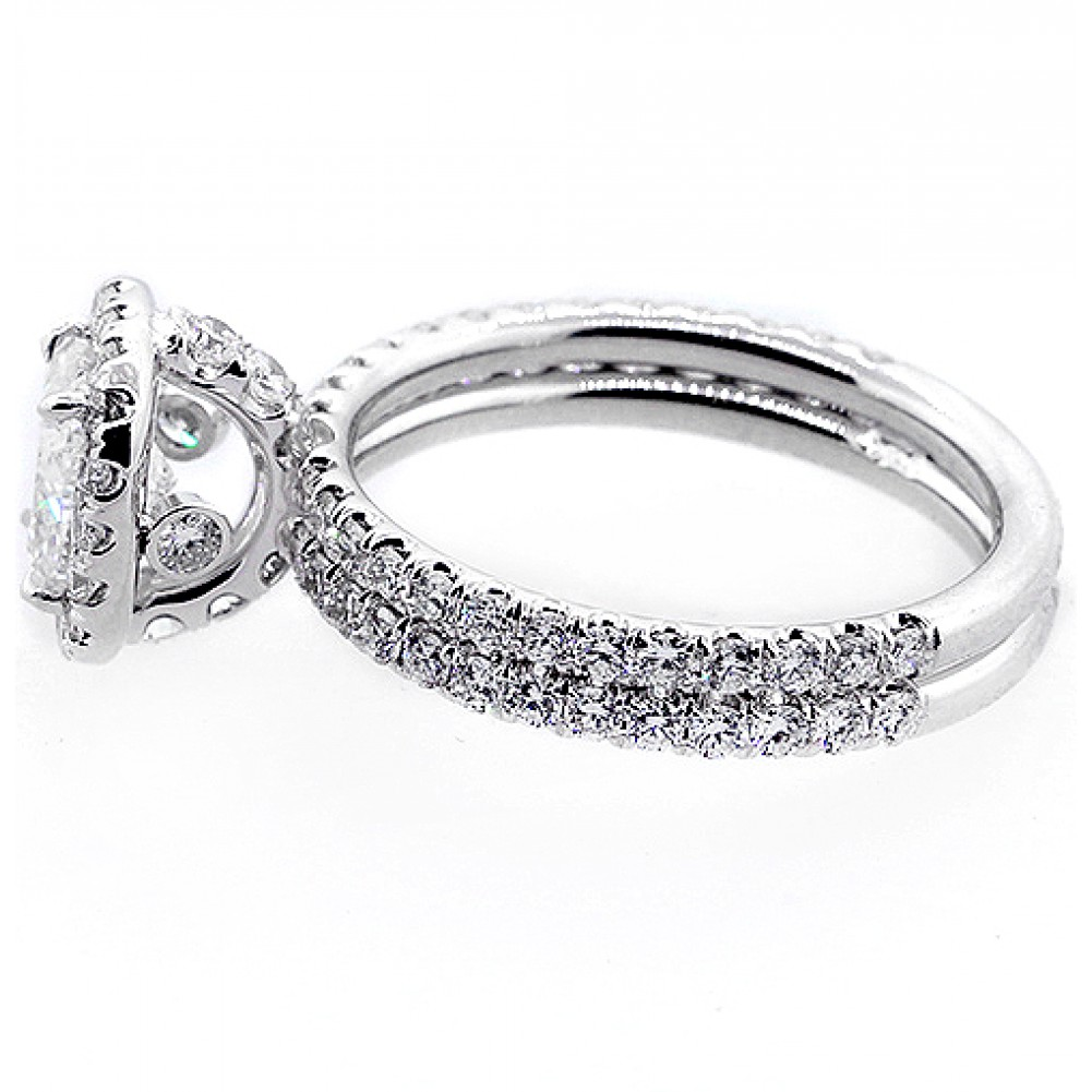 100 cheap engagement ring settings 18ctw halo