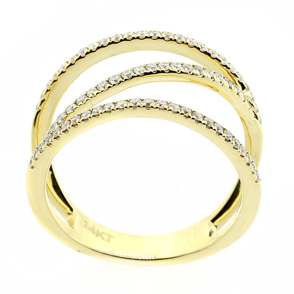 cts diamond fancy ring set in 14k yellow gold cheap. Black Bedroom Furniture Sets. Home Design Ideas