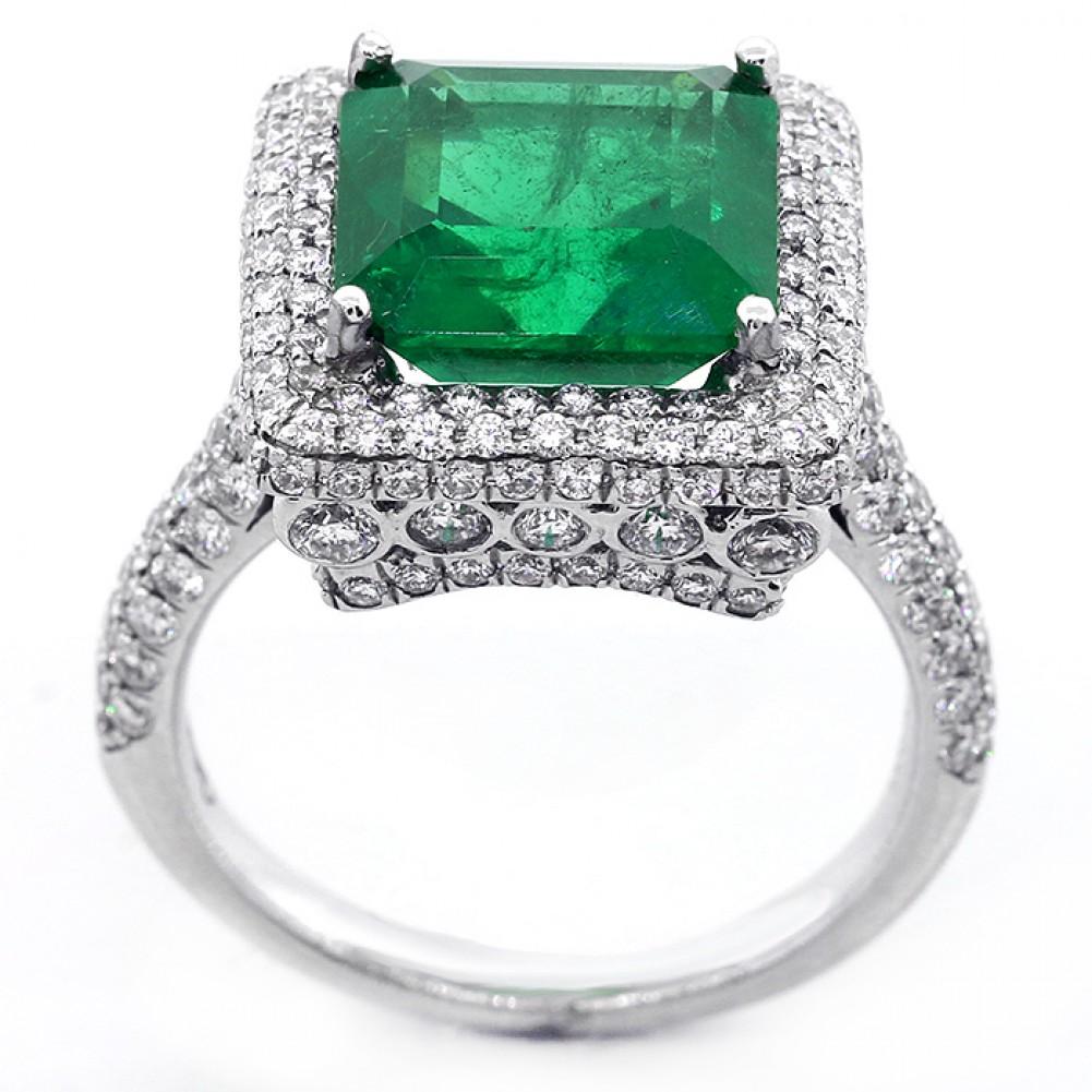 emerald engagement ring cheap engagement